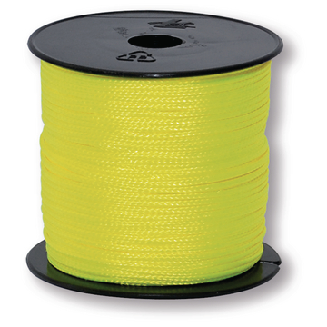 BRICKL.CORD 1,0 MM FLUORYELLOW
